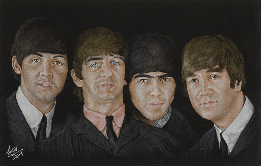 The Beatles by AndyGill